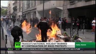 Is France on brink of revolution?
