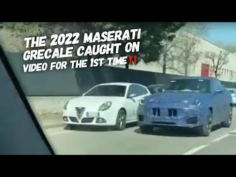 The 1st Video Of The Maserati Grecale SUV Prototype Road Testing
