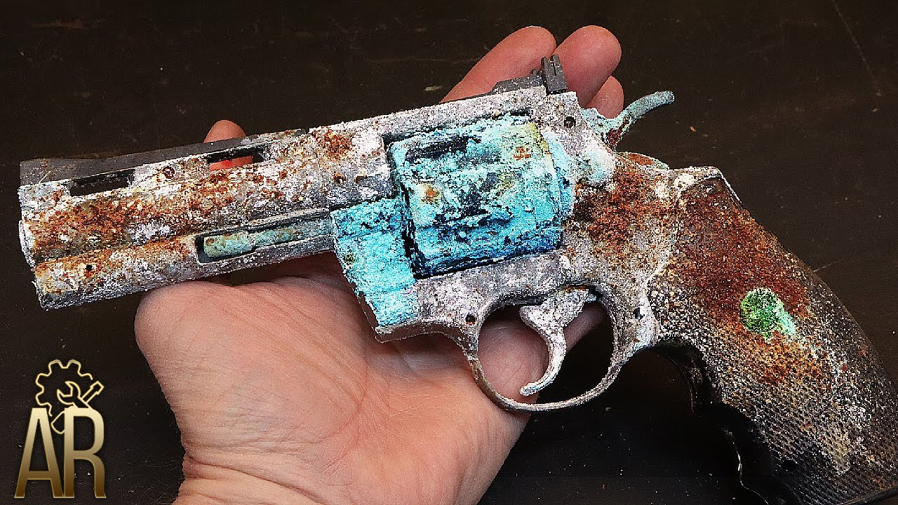 COLT Python .357 MAGNUM Gun Lighter Restoration