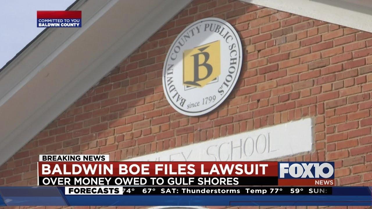 Lawsuit filed over Gulf Shores school split