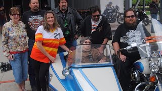 Man With Terminal Cancer Gets Harley Ride Around Town on Birthday
