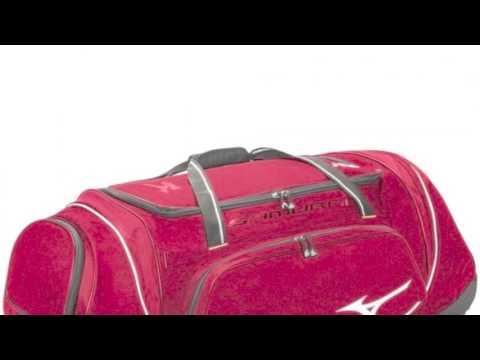 Mizuno Samurai 4 Catchers Wheel Bag 360179 Youtube