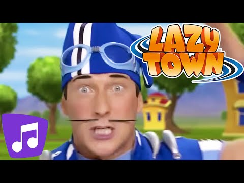LazyTown I Songs Mix Special 30min Compilation Music Video