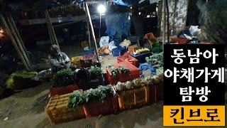 인도 동남아 야채가게 탐방 feat. 동남아 한류 패션
