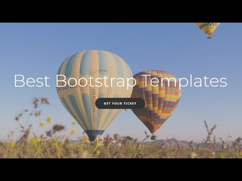 Best Bootstrap Templates - Free HTML Website Templates
