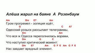 Алёша жарил на баяне А Розенбаум