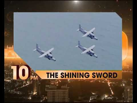 Indian Navy's Western Naval Command THE SHINING SWORD tonight at 10pm on NewsX
