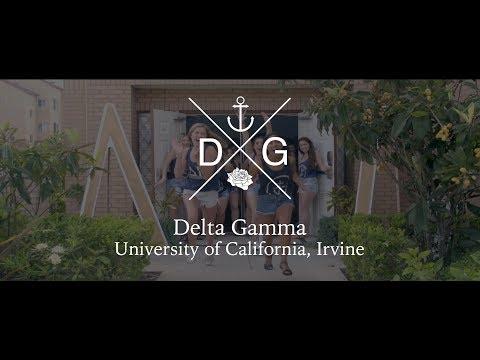 UC Irvine Delta Gamma 2017 Recruitment