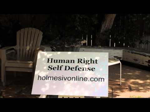 Uniquely American Human Right Self Defense