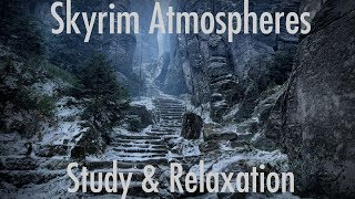 Skyrim Ambience - Study and relaxation music 3 hours