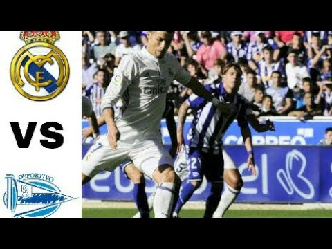 Real Madrid vs Deportivo Alaves 4-0 - All Goals   Extended Highlights football.