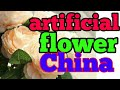 How to imports in China artificial flower best business to Pakistan & India deal in China 2018