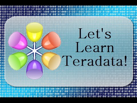 Let's Learn Teradata Lesson 104: Introducing Temporal Tables!