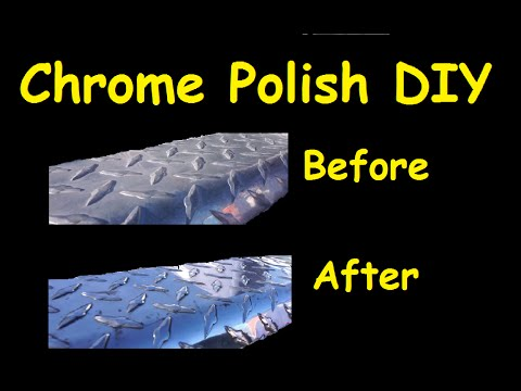 Machine Polishing Aluminum DIY How To Video Restore Dull to Shiny