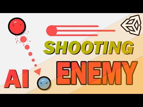 SHOOTING/FOLLOW/RETREAT ENEMY AI WITH UNITY AND C# - EASY TUTORIAL