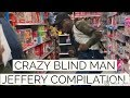 Funny Marco: blind man Jeffery Fighting at Walmart Compilation