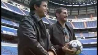 Alejandro Sanz e Iker Casillas
