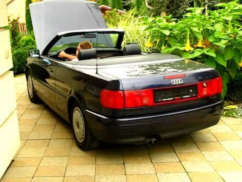 audi 80 b4 cabriolet v6 2 8 e youtube. Black Bedroom Furniture Sets. Home Design Ideas