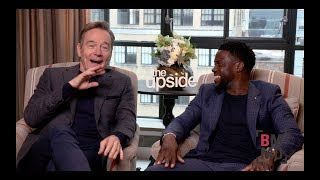 Bryan Cranston & Kevin Hart Interview - The Upside