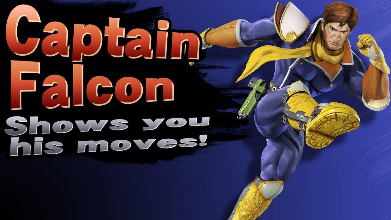 Smash 4 Model Import Helmetless Captain Falcon YouTube