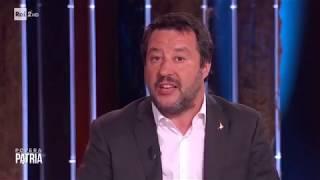 MATTEO SALVINI A POVERA PATRIA (RAI 2, 29.04.2019)