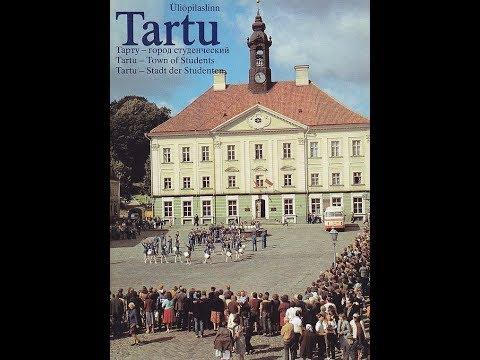 Soviet Estonia, Tartu ( Советский Тарту)