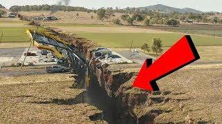 Crepa Gigante Spacca in 2 la Terra:Ecco cosa succederà...
