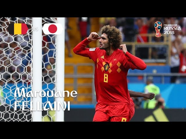 Marouane FELLAINI Goal – Belgium v Japan – MATCH 54