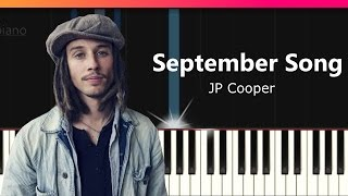 "JP Cooper - ""September Song"" Piano Tutorial - Chords - How To Play - Cover"