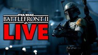 GENERAL GRIEVOUS IN 10 DAYS! Star Wars Battlefront 2 Live Stream #192