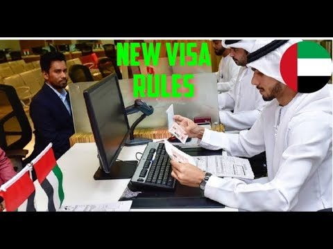 New Visa Rules for UAE Visitors from 21 October 2018