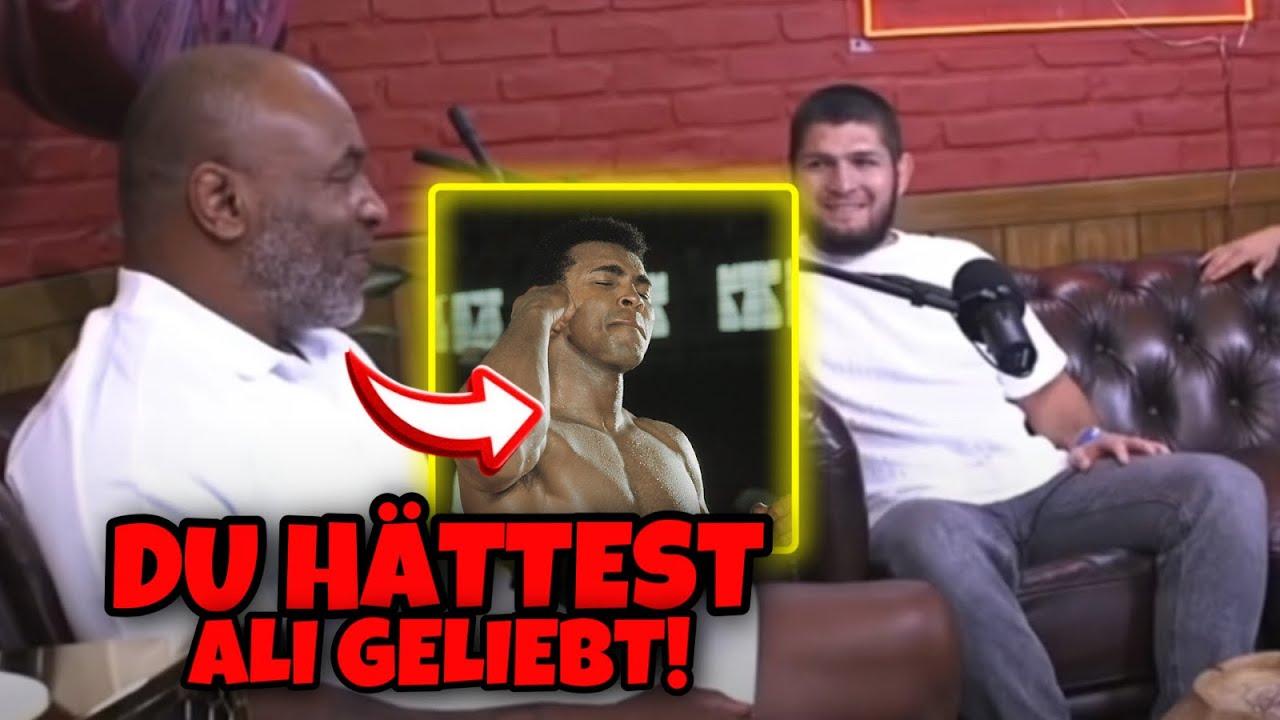 KHABIB sagt bei Mike Tyson, er WILL Muhammad ALI im nächsten Leben treffen!