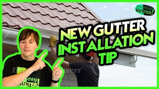 New Gutter Installation Tip #3