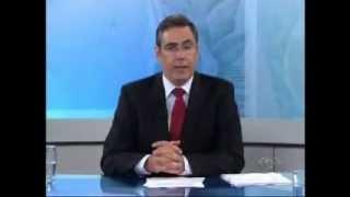 TV Jangadeiro trocando sinal do SBT para a BAND - 02/04/2012
