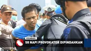 58 Napi Yang Dianggap Provokator Di Pindahkan Dari Rutan
