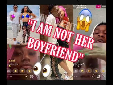 JANIA BANIA'S NEW MAN, JAY SAYS HE IS NOT HER BOYFRIEND?? On INSTAGRAM LIVE With JANIA!
