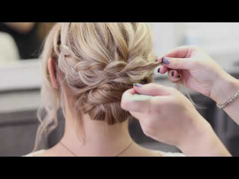 low-bun-upstyle-|-wedding-hair-|-textured-braid-|-salon-124-group