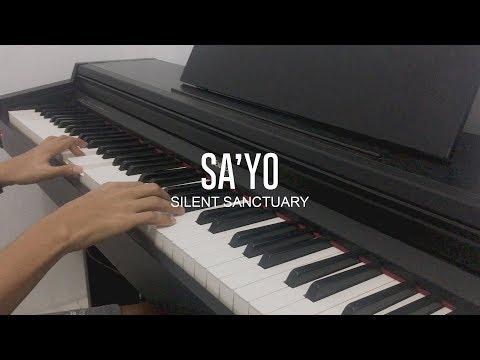Silent Sanctuary - Sa'yo (Piano Cover)
