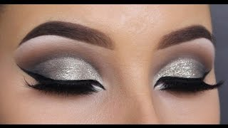 HOW TO create a glitter cut crease - MAKEUPBYAN
