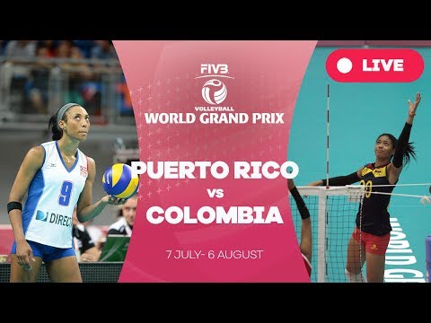 Puerto Rico v Colombia - Group 2: 2017 FIVB Volleyball World Grand Prix