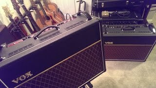 Vox AC30c2 vs AC15c2 comparison