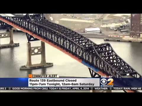 Detours Ahead For Two-Year Pulaski Skyway Rehab