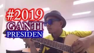 #2019 ganti president - tki korea nyanyi buat presiden || cover mas jendol