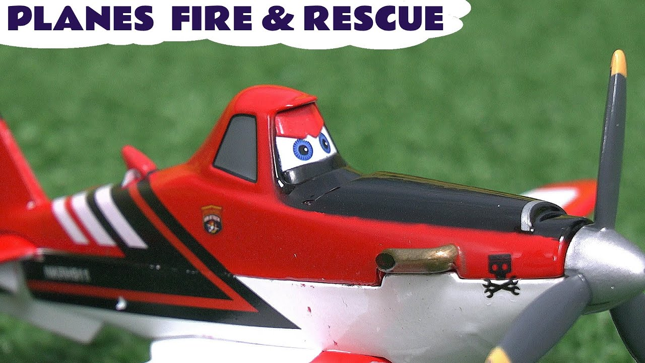 Disney Planes Fire & Rescue Ultimate Die-Cast Toy Cars Lightning McQueen Kids Disney Movie