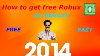 ROBLOX How to get free ROBUX And TIX 2014! *No Cheats Or Hacks*