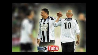 Ronaldo All Touches ● 20/4/2015 ● Ronaldo , Zidane & Friends vs St Etienne All Stars 2015 ●