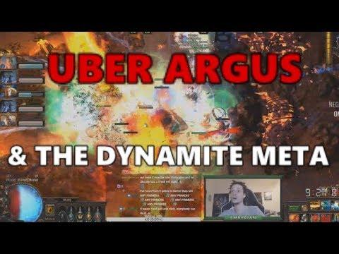 [PoE] Stream Highlights #223 - Uber Argus & the dynamite meta