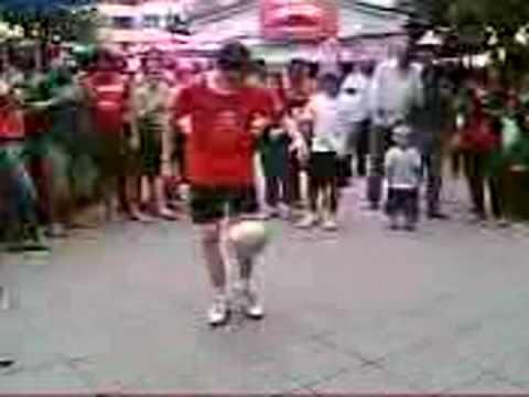 Ronaldinho? Nike Joga TV? Fußball jonglieren artista do futebol Trinidad Tobago Copa 2006 WM