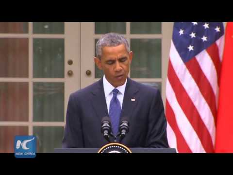 Obama: U.S., China won't engage in cyber theft of trade secrets