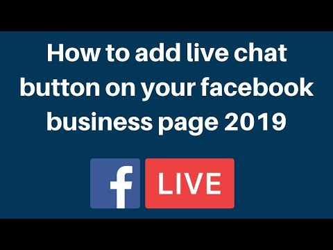 How To Add Live Chat Button On Your Facebook Business Page 2019 | Digital Marketing Tutorial